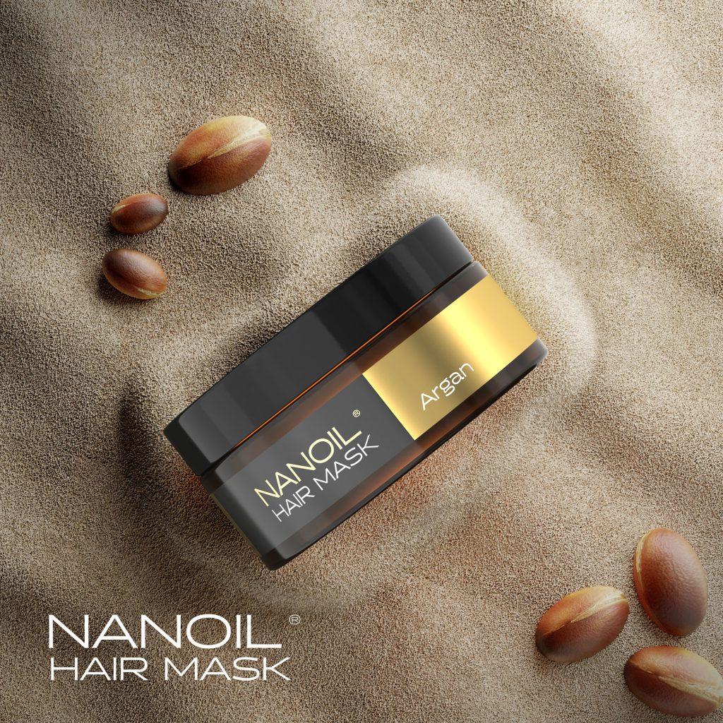 Nanoil - Haarmaske mit Arganoel